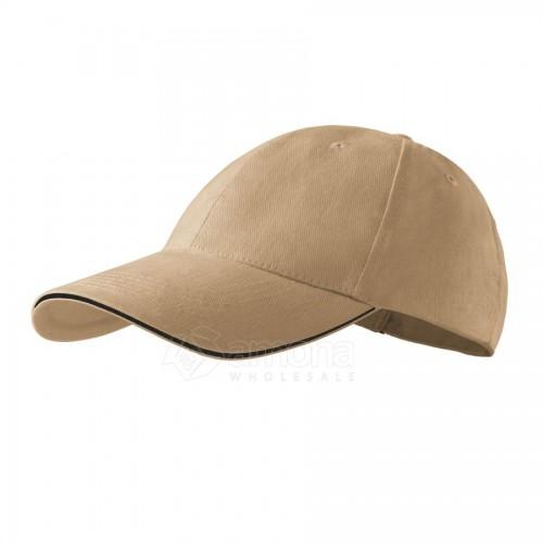 Kepurė ADLER 6P Sandwich Sand