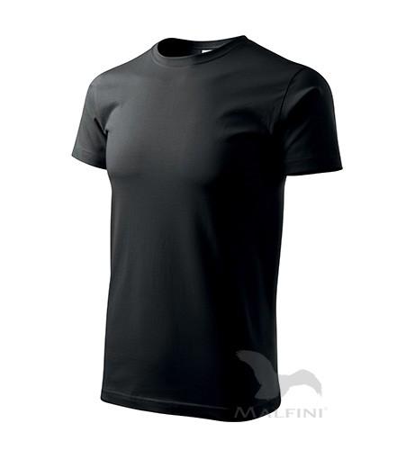 Marškinėliai ADLER Basic Black, vyriški