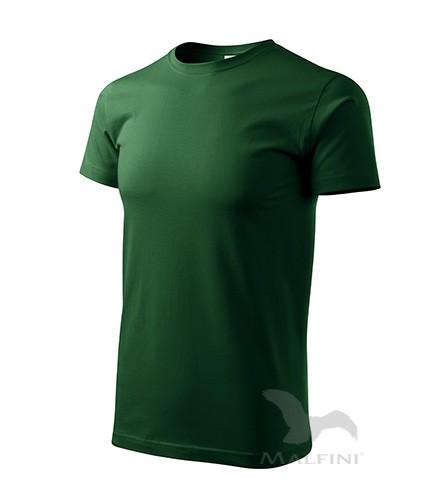 Marškinėliai ADLER Basic Bottle Green, vyriški