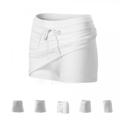 Sijonas- šortai Malfini Two in One White