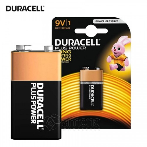 Šarminė baterija 6LR61 9V Duracell Plus Power