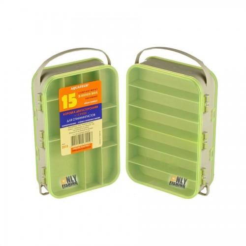 Dėžutė Aquatech 2515 Dvipusė 15 Skyrelių