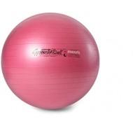 Gimnastikos kamuolys Original Pezzi Maxafe 53 cm Raudonas