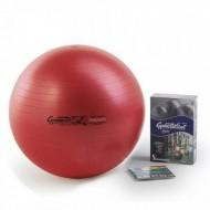 Gimnastikos kamuolys Original Pezzi Maxafe 65 cm Raudonas
