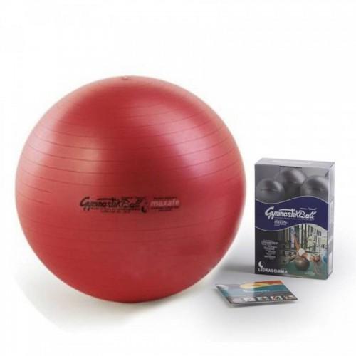 Gimnastikos kamuolys Original Pezzi Gymnastik Ball Maxafe 53 cm Red