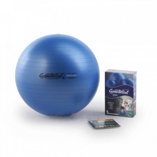 Gimnastikos kamuolys Original Pezzi Gymnastik Ball Maxafe 53 cm Blue