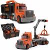 Smoby Truck 3in1 Black + Decker Tools Kranas 60 Akc.