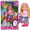 """Lėlė """"SIMBA Evi"""" ant triračio dviračio"""