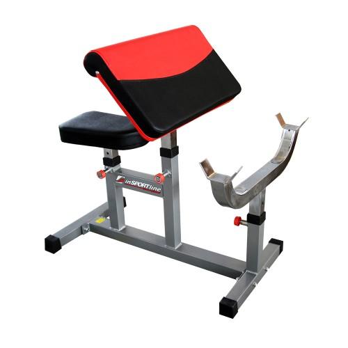 Treniruočių suoliukas bicepsams inSPORTline LKC301