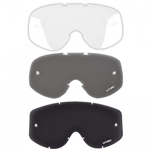 Motociklininko akinių stiklai W-TEC Major