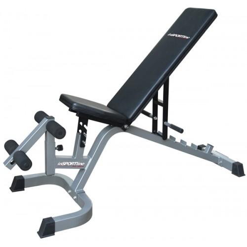 Reguliuojamas treniruočių suoliukas InSPORTline Profi Sit up