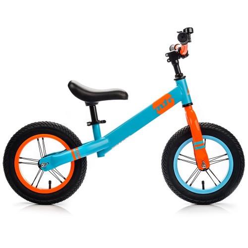 Balansinis dviratis METEOR mėlina/oranžinė sp.