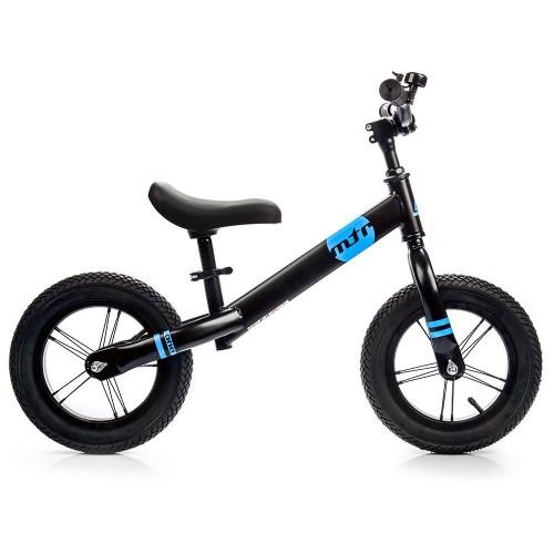 Balansinis dviratis METEOR juoda/mėlyna sp.