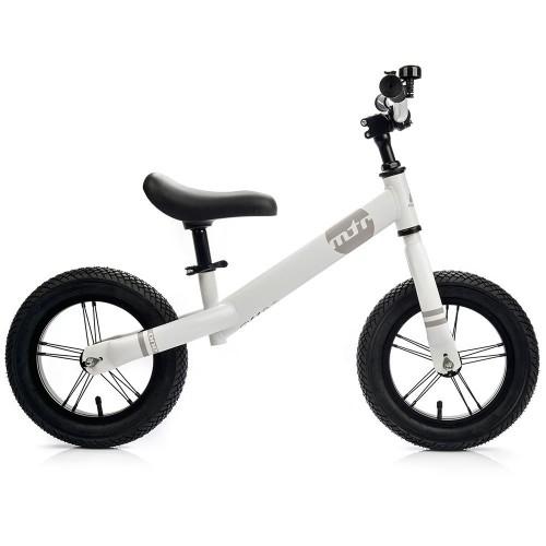 Balansinis dviratis METEOR  balta/pilka sp.