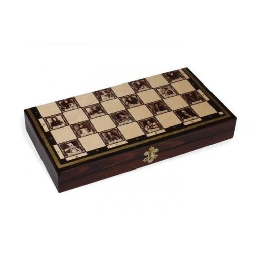 Karališki maži šachmatai 34,5 x 35 cm