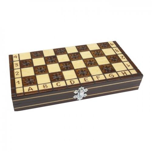 Šachmatai MIKRUS 27 x 27 cm