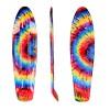 Mini riedlentės lenta 58x15 cm Worker Ecidy - Rainbow Whirl