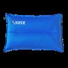 Savaime prisipučianti pagalvė Yate, L formos, 43x26x9 cm - mėlyna