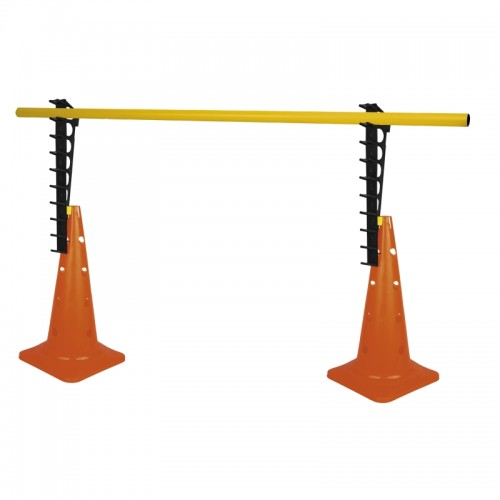 Gimnastikos elementų rinkinys SPOKEY, kūgiai + lazda