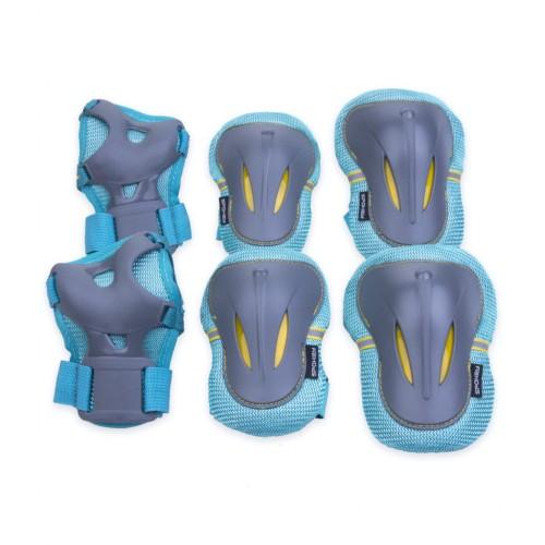Apsaugų rinkinys Spokey PLATE, mėlynos spalvos