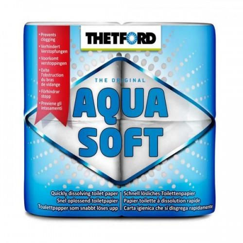 Tirpus tualetinis popierius - Thetford Aqua Soft 4 Pokai