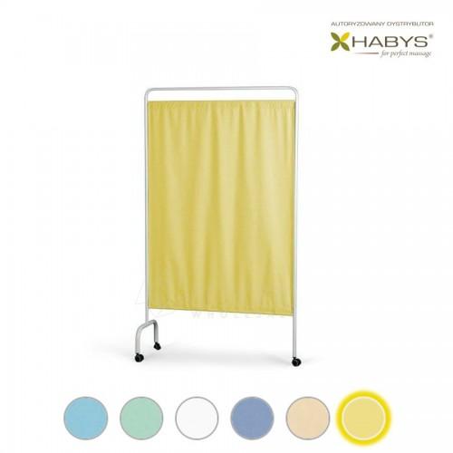Vienos dalies širma HABYS Parawan Standard I Yellow