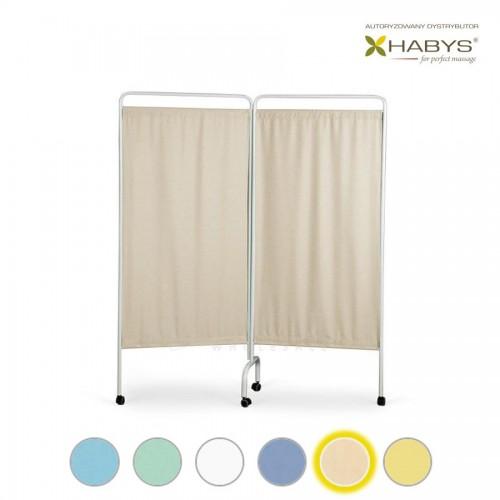 Dviejų dalių širma HABYS Parawan Standard II Beige